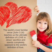 Load image into Gallery viewer, God is Love: A Valentine's Day Lesson (download only)