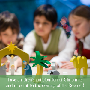 """Is It Time Yet?"" 4-Week Curriculum for Christmas"