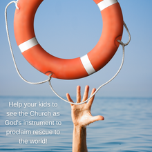 Load image into Gallery viewer, God's Rescue Plan: 4-Week Curriculum on the Birth of the Church (download only)