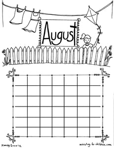 Calendar, Seasons, and Daily Routine - 40 Page Coloring Bundle