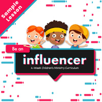Be an Influencer: Free Sample Lesson Plan (download only)