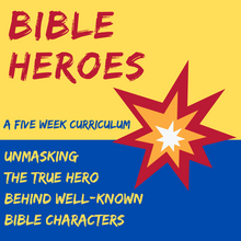 Load image into Gallery viewer, Bible Heroes: 5-Week Children's Ministry Curriculum (download only)