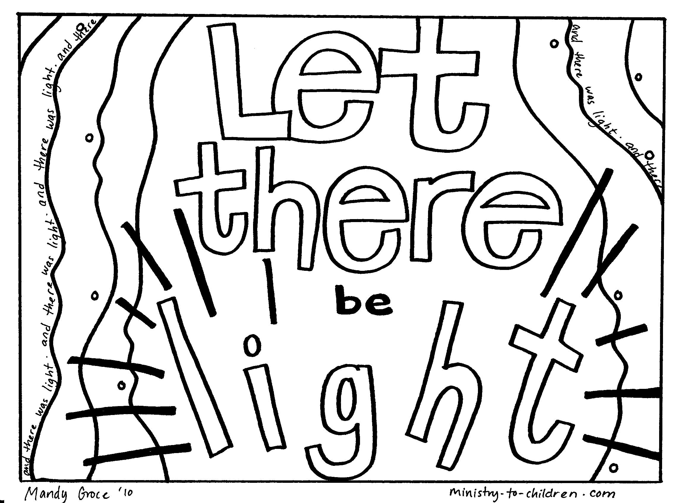 Free God Created The Earth Coloring Pages, Download Free Clip Art ... | 1692x2296