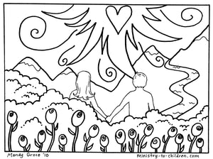 God's Good Creation - 23 Page Coloring Book & Teacher Talking Points