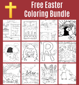 Easter Coloring Bundle (FREE) Download