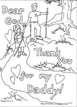 Load image into Gallery viewer, Father's Day Coloring Book (FREE) 7 Pages