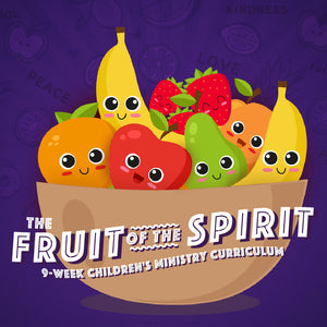 """Fruit of the Spirit"" Free Sample Lesson (download only)"