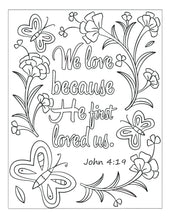 Load image into Gallery viewer, Bible Memory Verse Coloring Book (31 Pages) Advanced for Young Adults or Pre-Teens