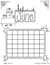 Load image into Gallery viewer, Calendar, Seasons, and Daily Routine - 40 Page Coloring Bundle