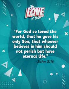 The LOVE of God: 4-Week Sunday School Curriculum (download only)