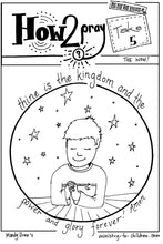 Load image into Gallery viewer, The Lord's Prayer Coloring Book for Kids (FREE) 5 Pages  (download only)