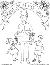 Load image into Gallery viewer, Mother's Day Coloring Book (religious) 5 pages