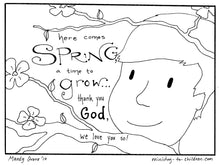 Load image into Gallery viewer, God's Good Creation - 23 Page Coloring Book & Teacher Talking Points