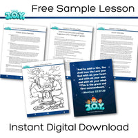 True JOY Curriculum: Free Sample Lesson (download only)