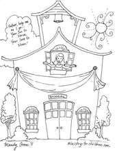 Load image into Gallery viewer, Back To School Coloring Pages (FREE)  download only