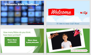 Ultimate BIBLE Trivia Challenge: 5 Week Virtual Children's Ministry Curriculum (Season 1)