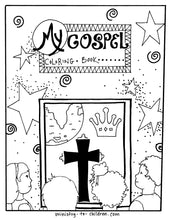 Load image into Gallery viewer, free Bible coloring page PDF printable