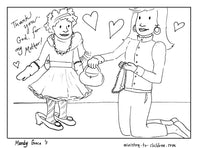 Mother's Day Coloring Book (religious) 5 pages