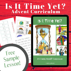 """Jesus Came at Just the Right Time"" Lesson (FREE) Is It Time Yet? SAMPLE"