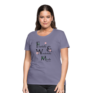Women's Fearfully and Wonderfully Made - washed violet