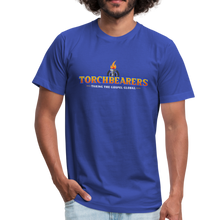 Load image into Gallery viewer, Torchbearers VBS Adult Shirt - royal blue