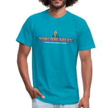 Load image into Gallery viewer, Torchbearers VBS Adult Shirt - turquoise