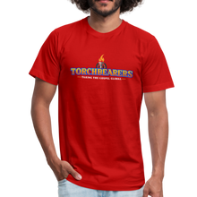 Load image into Gallery viewer, Torchbearers VBS Adult Shirt - red