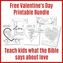 Load image into Gallery viewer, Valentine's Day Printable Bundle (FREE) download only