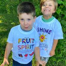 Load image into Gallery viewer, Fruit of the Spirit coloring craft shirt