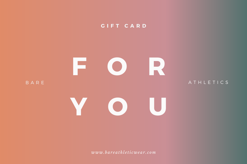 Bare Athletics E-Gift Card