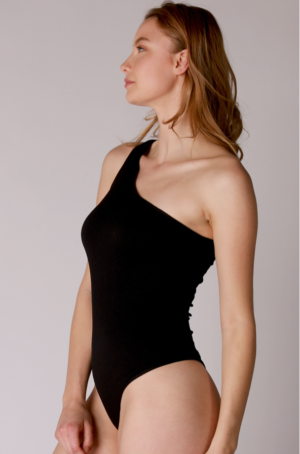 The Bare One-Shoulder Bodysuit