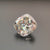 1.00 to 5.00 Carat Colorless Crushed Ice Cushion Cut Loose Moissanite For Wedding Ring by Yogee Gems (3)