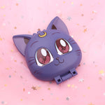 Load image into Gallery viewer, Sailor Moon Luna compact mirror