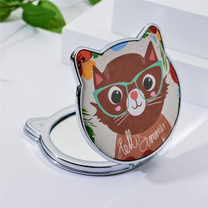 Mini compact cat mirror