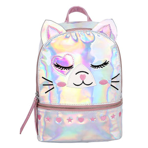 Intergalactic cat backpack - multicolor