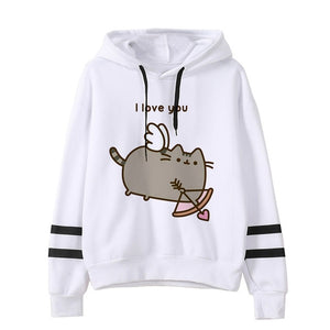 Pusheen the cat hoodie - cupid