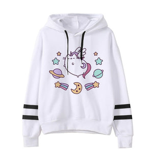 Pusheen the cat hoodie - galaxy