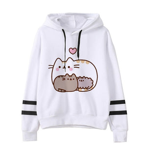 Pusheen the cat hoodie - family