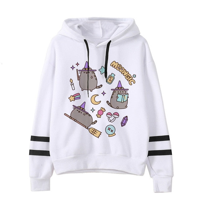 Pusheen the cat hoodie - meowgic