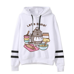 Pusheen the cat hoodie - bake