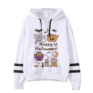 Pusheen the cat hoodie - halloween