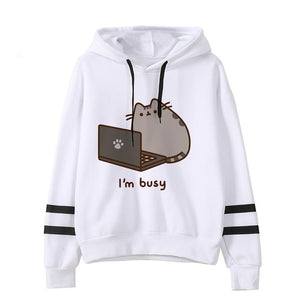 Pusheen the cat hoodie - computer
