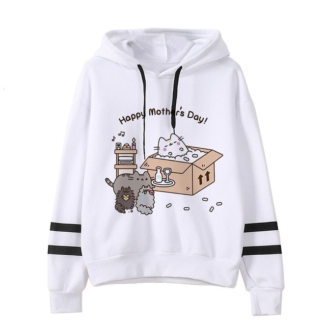 Pusheen the cat hoodie - mother
