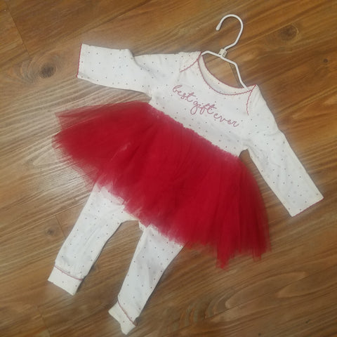 Best Gift Ever Tutu Romper