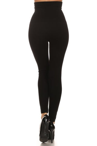 Leggings High Waist w/French Terry