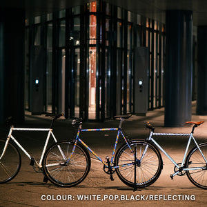 3 Reflective Bicycles
