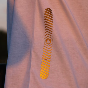 Reflective T-SHIRT - SNICE (mustard)