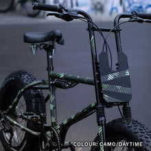 Laden Sie das Bild in den Galerie-Viewer, Urban Drivestyle UDX, camouflage bike wrap