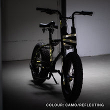 Laden Sie das Bild in den Galerie-Viewer, Urban Drivestyle UDX, camouflage bike wrap, reflective