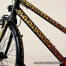 Laden Sie das Bild in den Galerie-Viewer, Animal Print Sticker bike, reflective